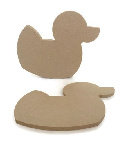 MDF Wooden Duck 6mm or 15mm Thick