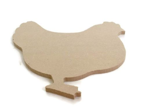 MDF Wooden Hen 6mm or 15mm Thick