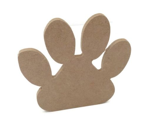 MDF Wooden Paw 6mm or 15mm Thick