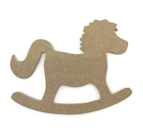 MDF Wooden Rocking Horse 6mm or 15mm Thick