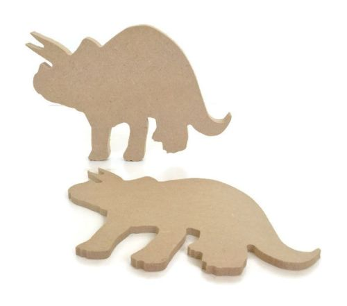 MDF Wooden Dinosaur 6mm or 15mm Thick