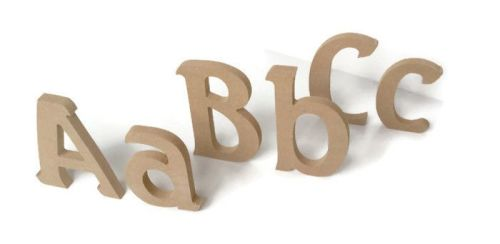 MDF Letters & Numbers 18mm Thick (Seagull font)