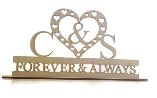 Wedding / Name Stand (custom made)