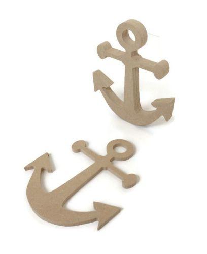 MDF Wooden Anchor 6mm or 15mm Thick