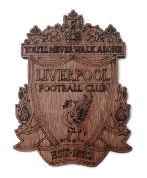 Liverpool Plywood Football Crest