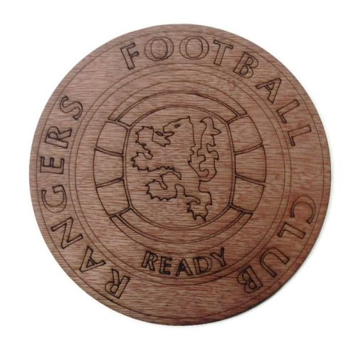 Rangers Plywood Football Crest