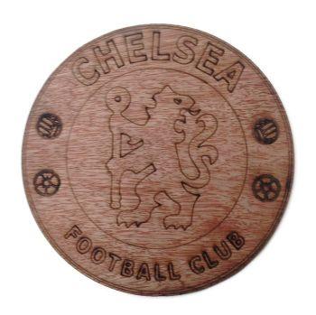 Chelsea Plywood Football Crest