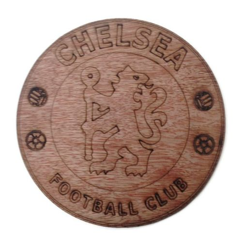 Chelsea Plywood Football Crest