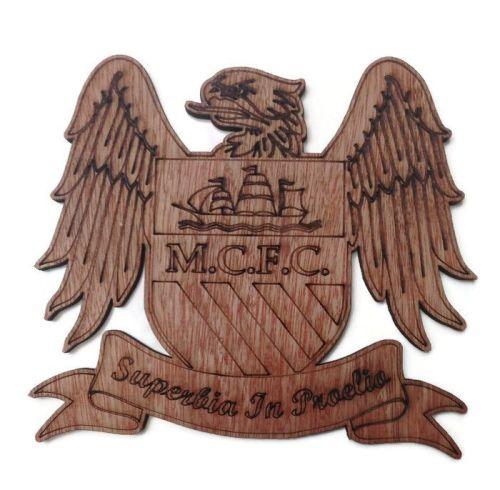Man City Plywood Football Crest
