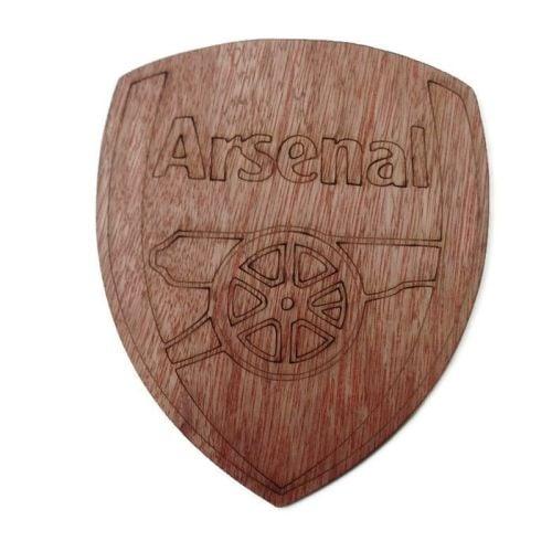Arsenal Plywood Football Crest