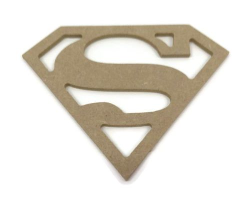 MDF Wooden Superman 6mm or 15mm Thick