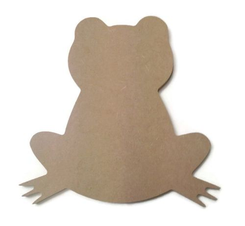 MDF Wooden Frog 6mm or 15mm Thick