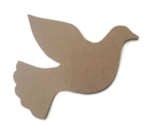 MDF Wooden Dove 6mm or 15mm Thick
