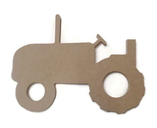 MDF Wooden Tractor 6mm or 15mm Thick