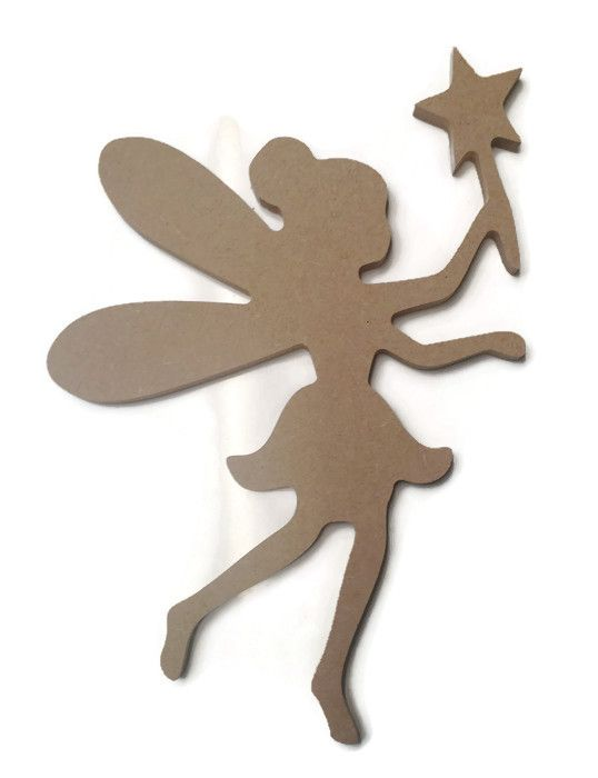 MDF Wooden Fairy 6mm or 15mm Thick