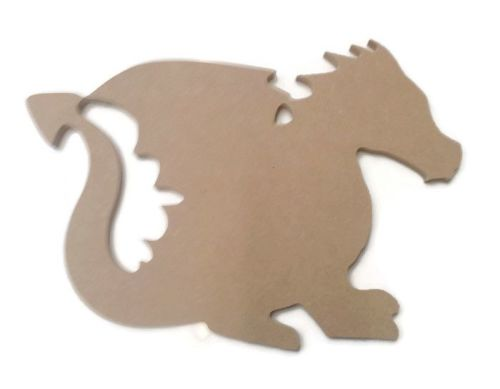 MDF Wooden Dragon 6mm or 15mm Thick