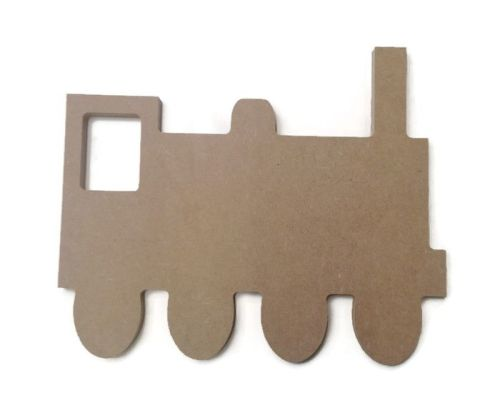 MDF Wooden Train 6mm or 15mm Thick