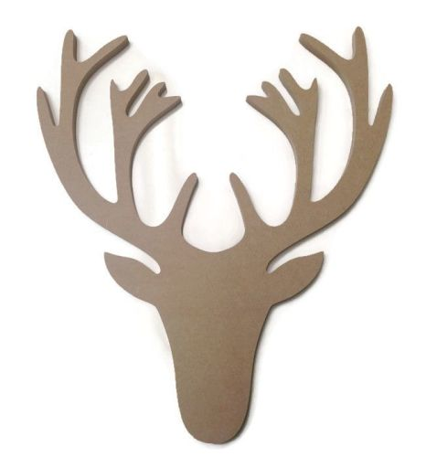 MDF Wooden Stag 6mm or 15mm Thick