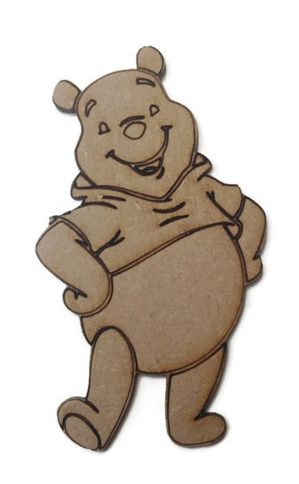 Winnie the Pooh Figure 100mm - 500mm, 4mm Thick
