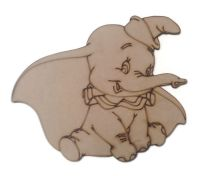Dumbo Figure 100mm - 500mm, 4mm Thick