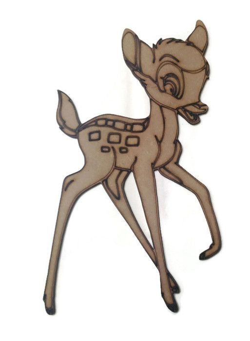 Bambi Figure 100mm - 500mm, 4mm Thick