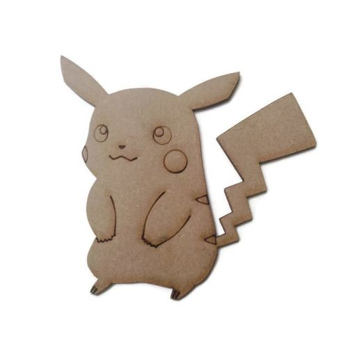 Pikachu Figure 100mm - 500mm, 4mm Thick
