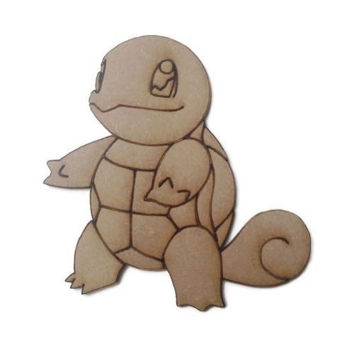 Squirtle Figure 100mm - 500mm, 4mm Thick