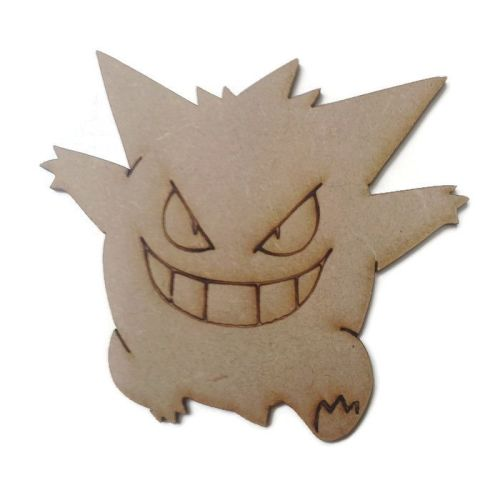 Gengar Figure 100mm - 500mm, 4mm Thick