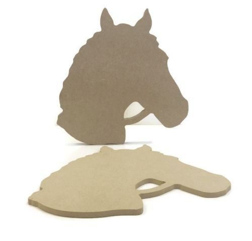 MDF Wooden Horse Head 6mm or 15mm Thick