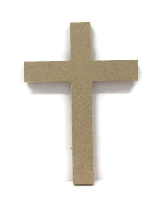 MDF Wooden Cross 6mm or 15mm Thick