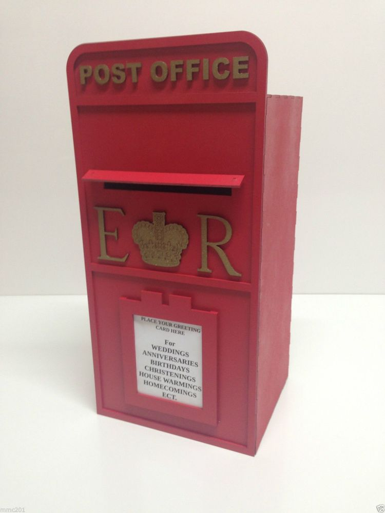 Royal Mail Wedding Post Box Painted