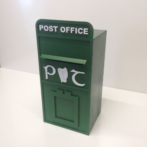 Irish An Post Wedding Post Box, Painted