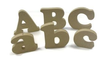 MDF Letters & Numbers 25mm Thick (Cooper font)