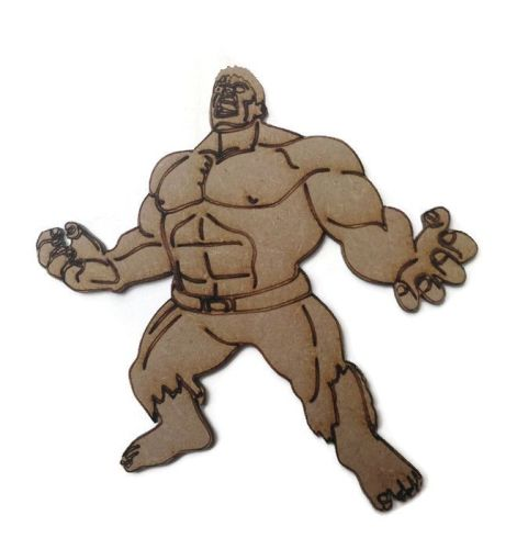 The Hulk Figure 100mm - 500mm, 4mm Thick