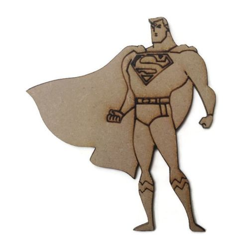 Superman Figure 100mm - 500mm, 4mm Thick