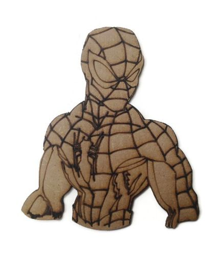 Spiderman Figure 100mm - 500mm, 4mm Thick