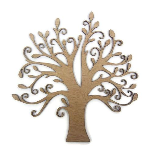Wooden Plywood Tree Shape Various Sizes
