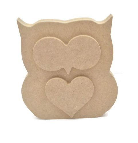 MDF Wooden Owl 6mm or 15mm Thick