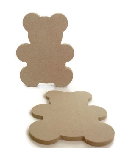 MDF Wooden Teddy 6mm or 15mm Thick