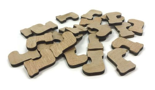 Wooden Plywood 35mm Stockings, 25-100 Quantity 4mm Thick