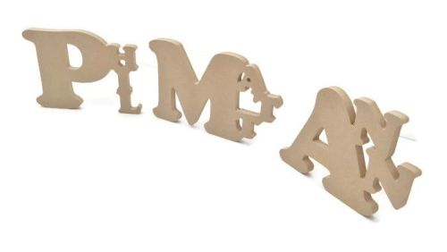 MDF Freestanding Wooden Custom Name Plaques 18mm Thick