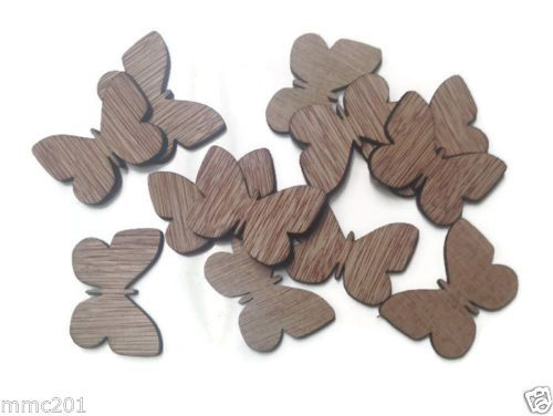 Wooden Plywood 35mm Butterflies, 25-100 Quantity 4mm Thick