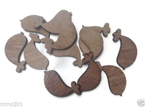 Wooden Plywood 35mm Doves, 25-100 Quantity 4mm Thick
