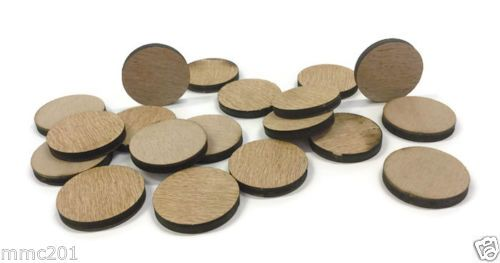 Wooden Plywood 35mm Circles, 25-100 Quantity 4mm Thick