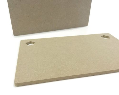 MDF Wooden Plaque Shape 6mm 15mm Thick