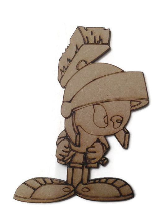 Marvin The Martian Figure 100mm - 500mm, 4mm Thick