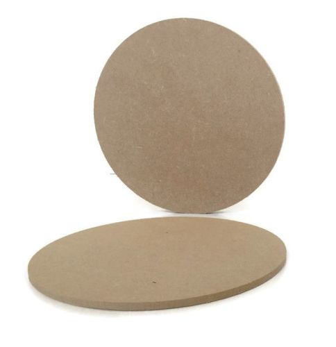 MDF Wooden Circle 6mm or 15mm Thick
