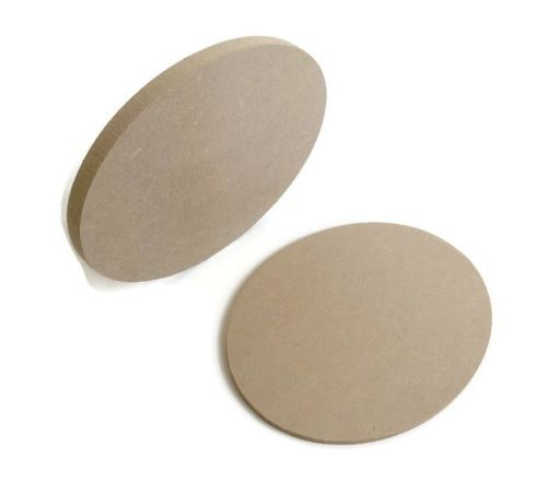MDF Wooden Oval 6mm or 15mm Thick