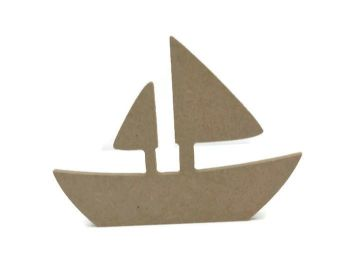 MDF Wooden Boat 6mm or 15mm Thick