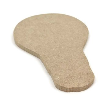 MDF Wooden Bulb 6mm or 15mm Thick